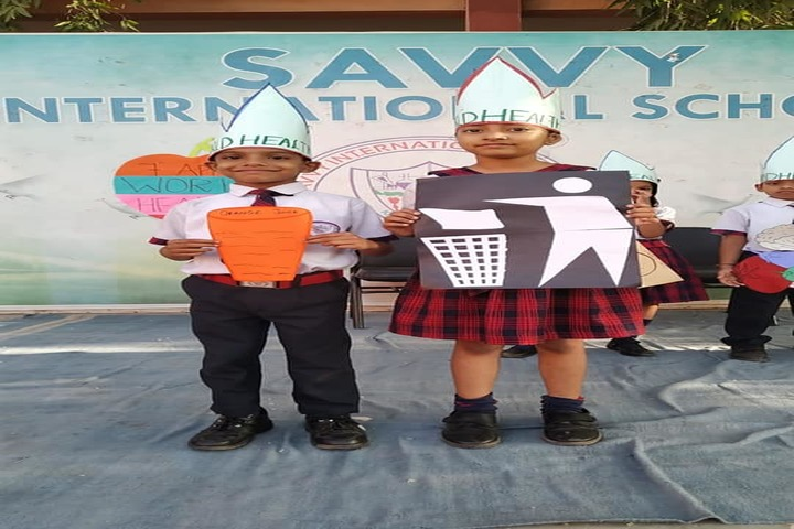 Savvy International School-World Health Day