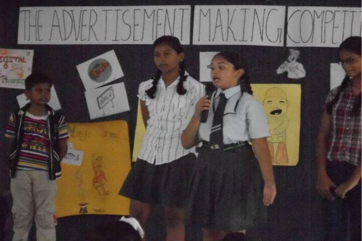 Shannen Kids School-Advertisement Making Competition