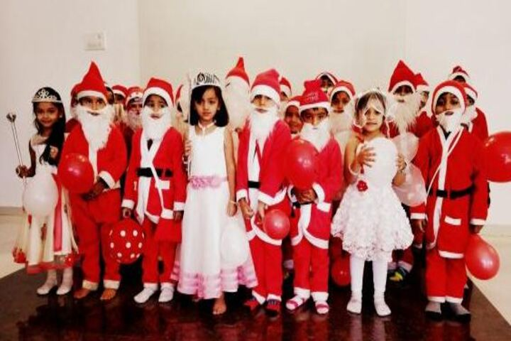 Shree Auro English School-Christmas Celebrations