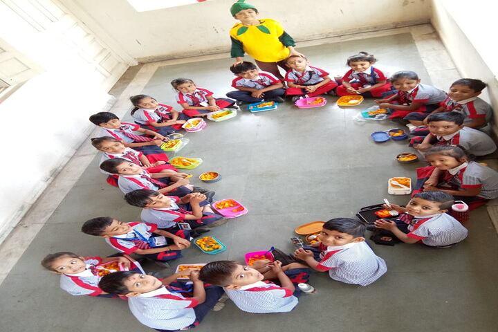 Shree Auro English School-Classroom Activity