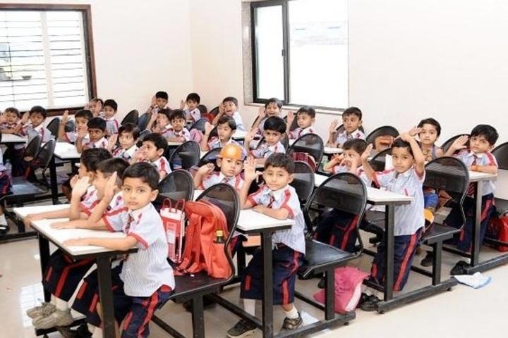Shree Auro English School-Classrooms