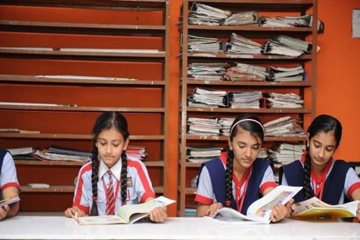 Shree Auro English School-Library