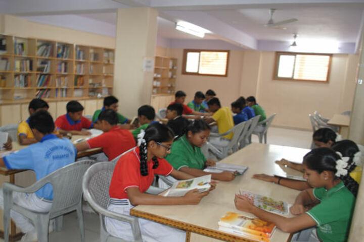 Shree Ghanshyam Academy-Library