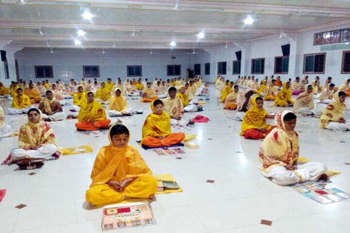 Shree Ghanshyam Academy-Pray Hall
