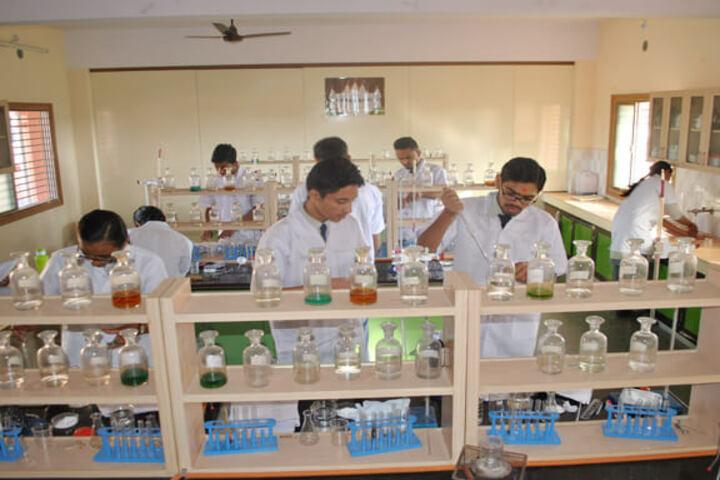 Shree Ghanshyam Academy-Science Lab