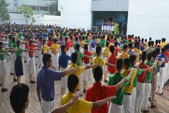 Shree Krishna International School-Assembly