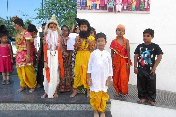 Shree Krishna International School-Fancy Dress Competition
