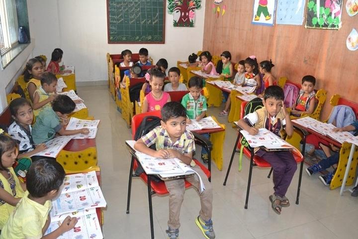Shree Krishna International School-Kids Classroom
