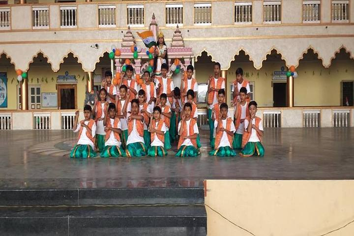 Shree Radhagovind Vidyamandir-Independence Day