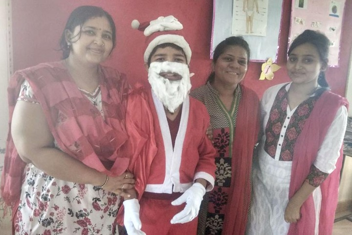 Shree Raj Rajeshwari Vidya Mandir-Christmas Celebrations
