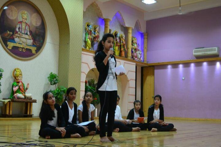 Shree Swaminarayan English Medium School-Debate