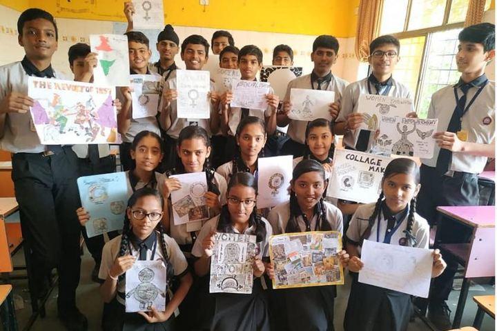 Shree Swaminarayan Goodwill School-Classroom Activity