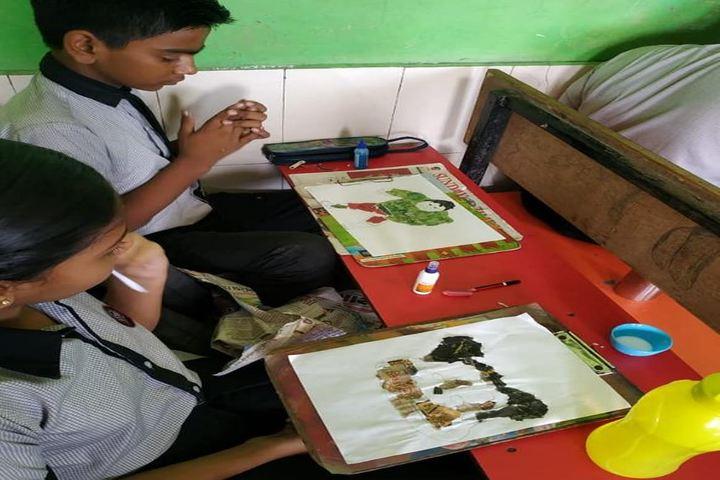 Shree Swaminarayan Goodwill School-Drawing Competition