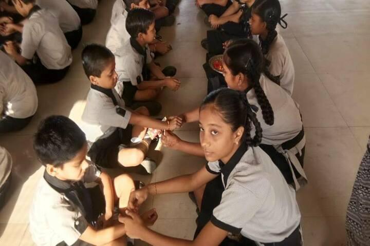 Shree Swaminarayan Goodwill School-Rakshabandhan Celebrations
