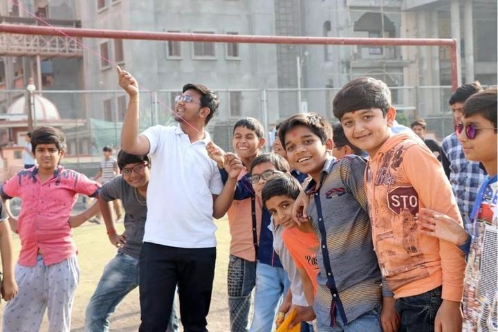 Shree Swaminarayan Gurukul Gyanbag International School-Sankranthi Celebrations