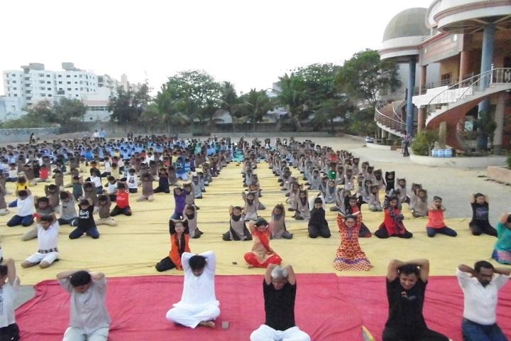 Shree Swaminarayan M G K English Primary School-Yoga