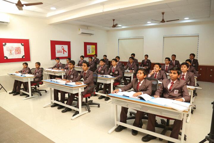 Shree Swaminarayan Vidhyapeeth-Classroom