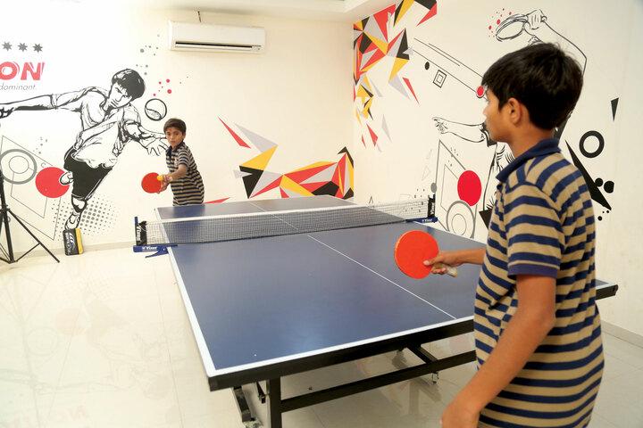 Shree Swaminarayan Vidhyapeeth-Indoor Games