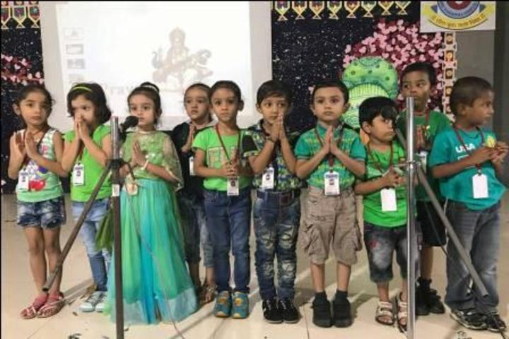 Shree Vashishtha Vidhyalaya-Green day
