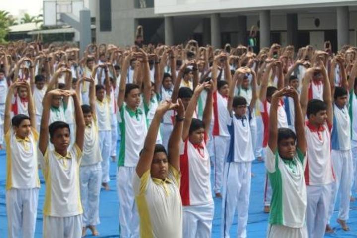 Shree Vashishtha Vidhyalaya-Yoga Day