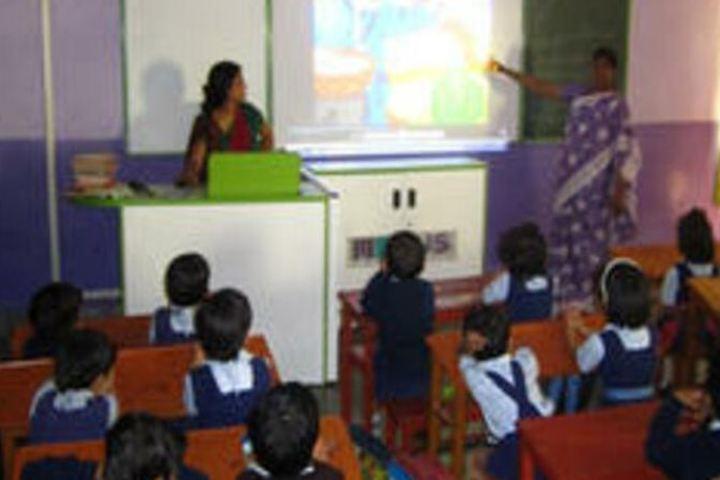 Shri L G Haria Multipurpose School-Classroom