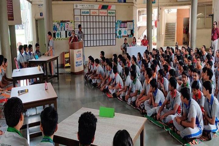 Shri L G Haria Multipurpose School-Quiz Compitition