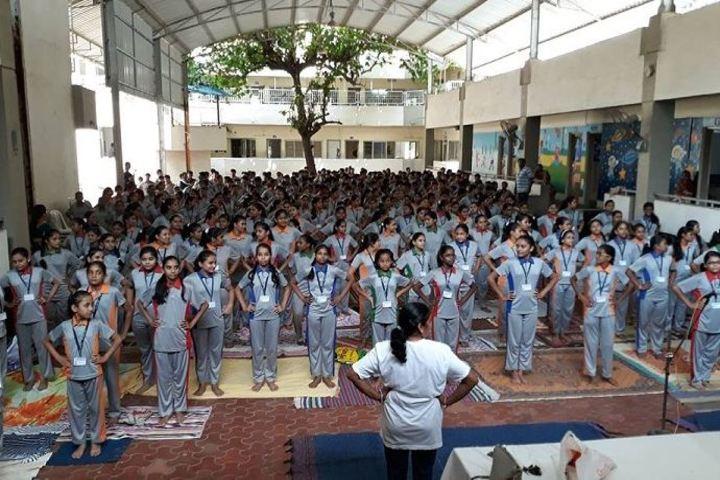 Shri L G Haria Multipurpose School-Yoga