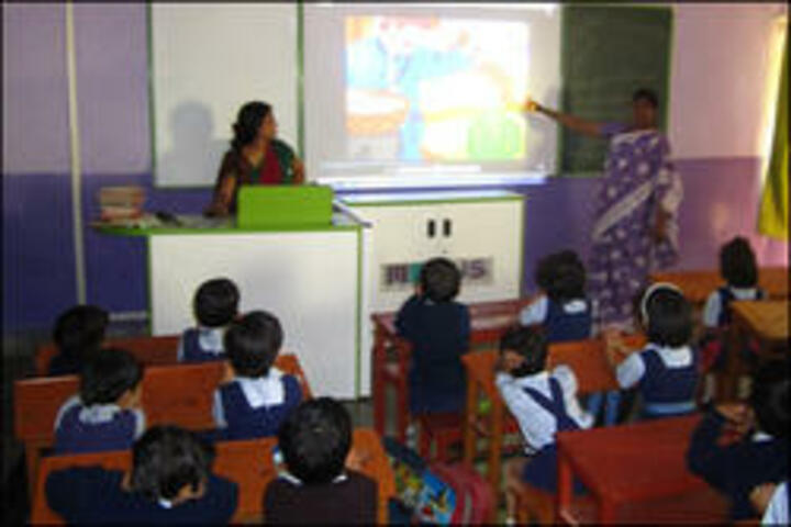 Shri L G Haria Multipurpose School-Digital Classroom