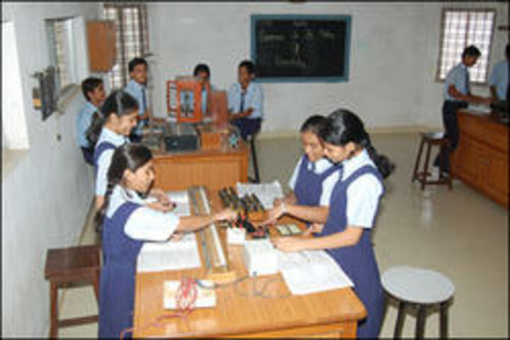 Shri LG Haria Multipurpose School-Physics Lab