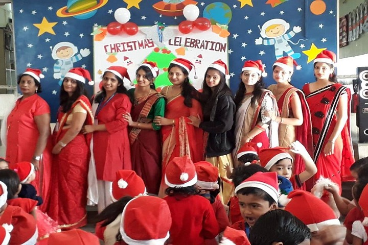 Shri LG Haria Multipurpose School-Christmas Celebration