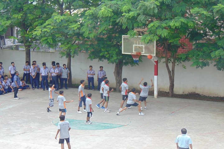 Shri LG Haria Multipurpose School-Inter House Basket Ball Competition