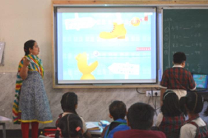 Smt Sandraben Shroff Gnyan Dham School-Digital Classroom