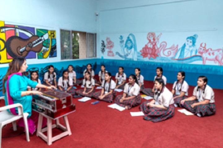 Smt Sandraben Shroff Gnyan Dham School-Music Class