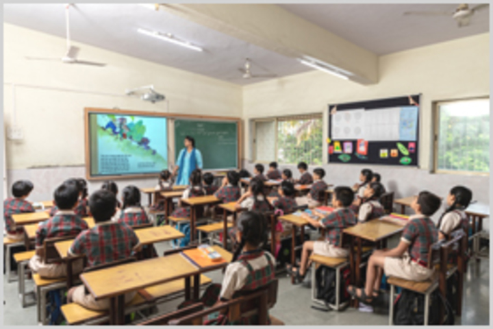 Smt Sandraben Shroff Gnyan Dham School-Classrooms