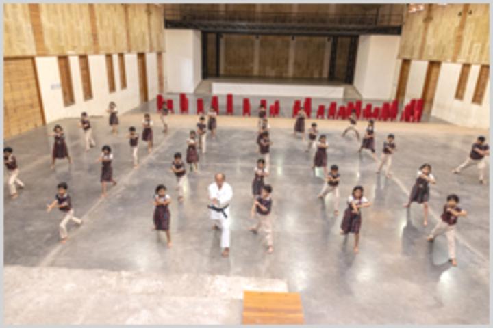 Smt Sandraben Shroff Gnyan Dham School-Karate