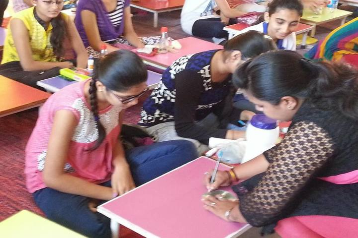 T N Rao School For Girls-Classroom Activity
