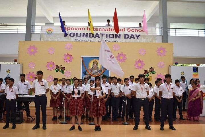 Tapovan International School-Foundation day