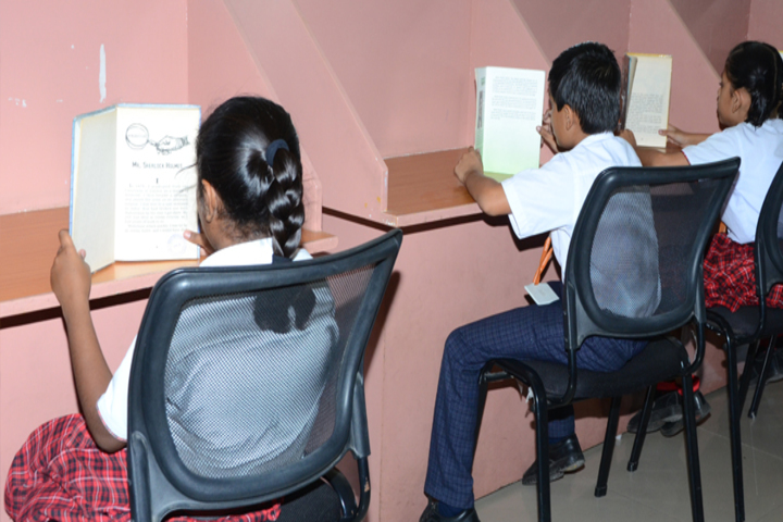 Tapovan International School-Library