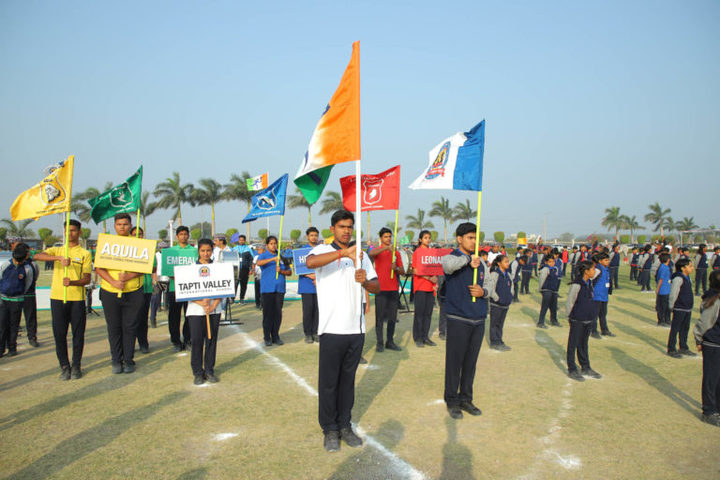 Tapti Valley International School-Annual Sports Day