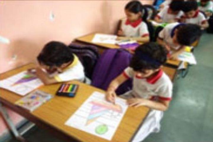 The Aditya Birla Public School-Drawing Competition