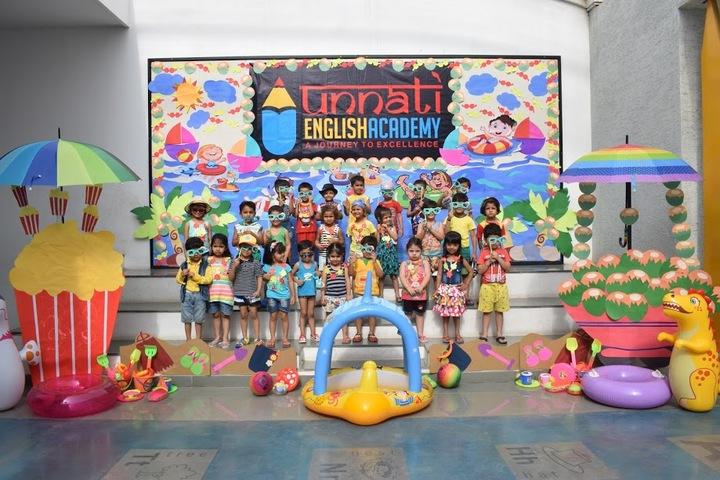 Unnati English Academy-Activities