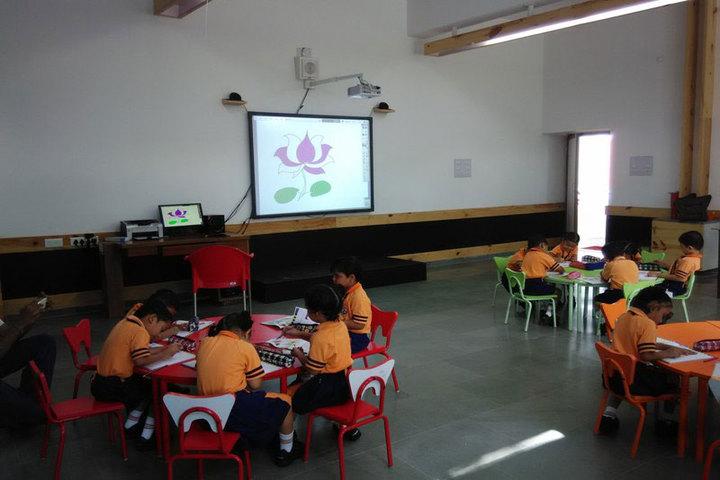 Unnati English Academy-Pre primary Classroom