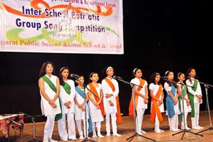 Urmi School-Singing