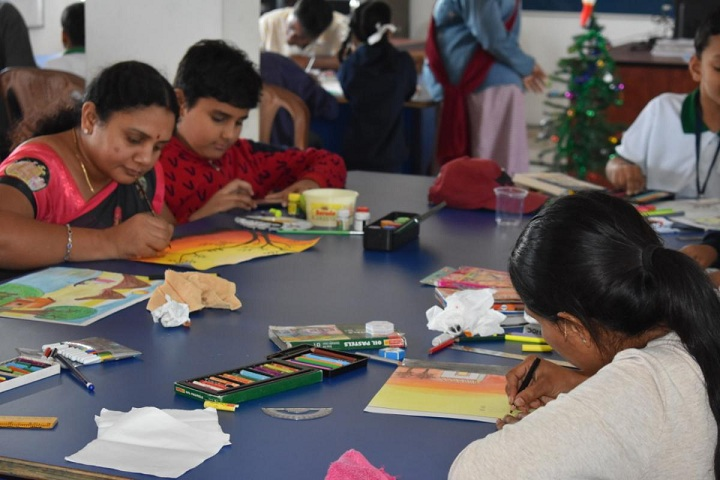 V S G International School-Drawing competition