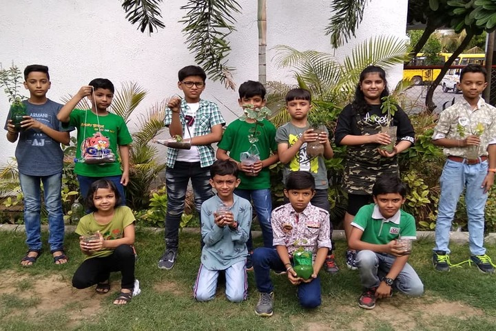 Vedant International School-Tree Plantation