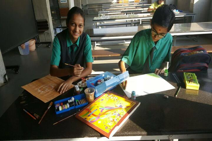 Vibrant International Academy-Drawing Competition