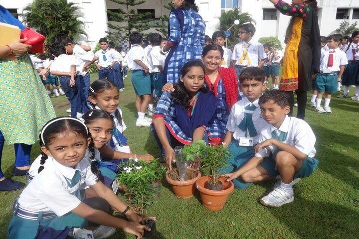 Vibrant International Academy-Tree Plantation