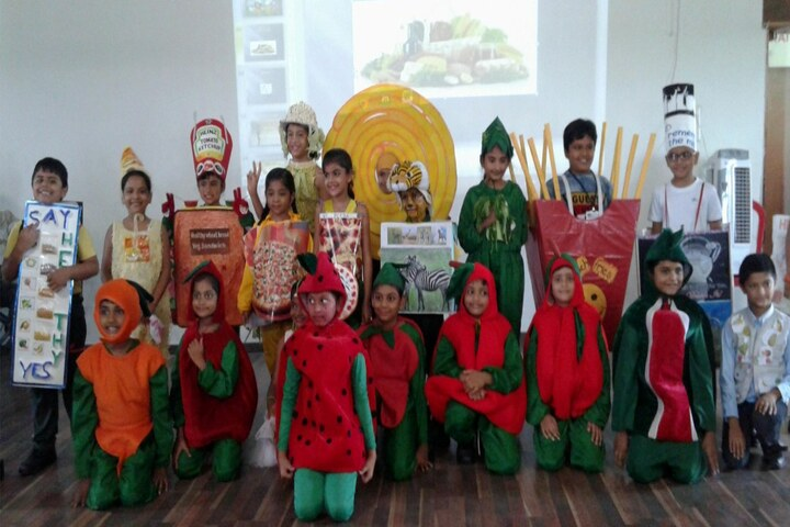 Vibrant School Of Excellence-Fancy Dress Competition