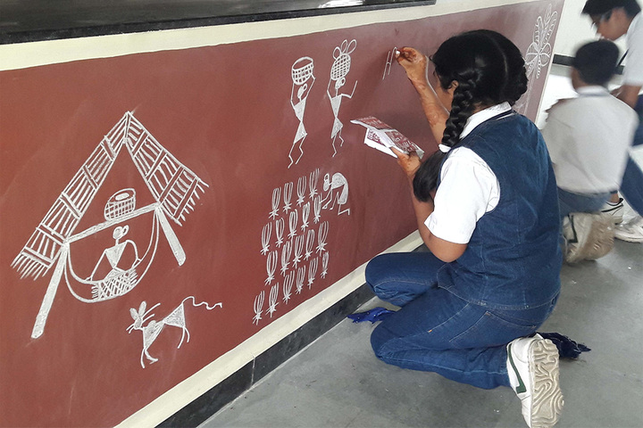 Vibrant School Of Excellence-Painting Competition