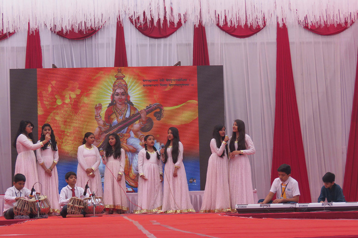Vibrant School Of Excellence-Singing Activity